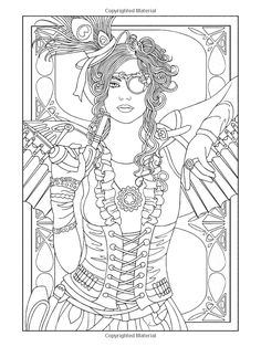 Dover Coloring Book Sample Pages On Pinterest