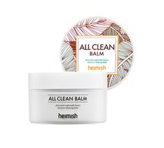 Heimish All Clean Balm 120ml      Features Multi cleansing that will erase the dark makeup clearly Contains coconut palm fruit extracts and shea butter Gently melting on face by skin temperature and cleanse vivid makeup an
