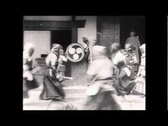 The first  kendo motion picture - from 1897