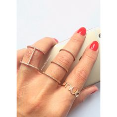 Get your sparkling ring on - en.dawanda.com/shop/pourtoijewelry ✨