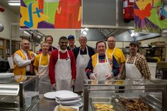 Cranbury Lions Club 66th Annual Pancake Breakfast Dec. 8, 2013 pictures is the kitchen crew.