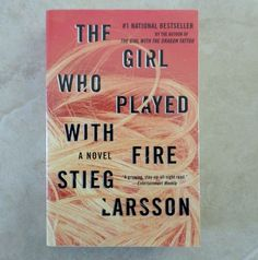 The Girl Who Played with Fire No. 2 by Stieg Larsson 2010 Paperback Swedish Noir