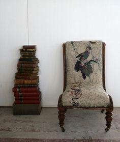 Timorous Beasties // custom British Birds chair