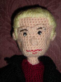 Spike (Buffy The Vampire Slayer / Angle) - Amigurumi / Crochet Doll - photos only