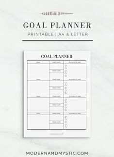 Manifestation Law Of Attraction Discover Goal Planner Printable Goals Template, Business Plan Template, Planner Template, Planner Inserts, Planner Pages, Printable Planner, Printables, Goals Printable, Printable Templates