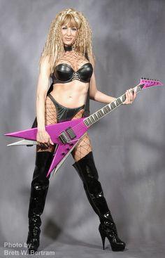 Steve stevens guitar additionally Kirk Hammet as well 80s Fernandes Rock Star Guitars together with Randy Rhoads Guitars And Gear additionally Bernie Rico Jr Vixen Gary Holt. on jackson guitars