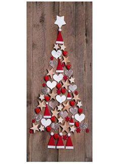 Weihnachtsbaum aus Dekor Motivdruck