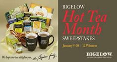 Win a Bigelow Tea Gift Basket for Hot Tea Month! on http://www.icravefreebies.com/