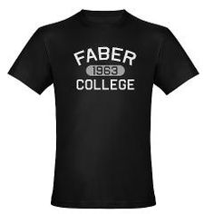 FABER COLLEGE 1963 Men's Fitted T-Shirt (dark) > FABER COLLEGE > JMK Graphics