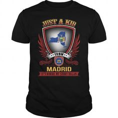 Cool  Madrid-New York shirt T shirts
