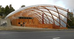 WaitomoCavesGridshell with etfe roof