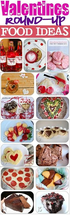 The jackpot of Valentine food inspiration!  #vday #valentine #datingdivas www.TheDatingDivas.com