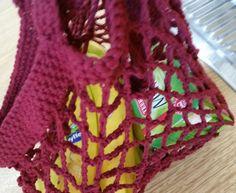 Einkaufstaschen - Denni's Kreativ Design: Einkaufsnetz gehäkelt - ein…