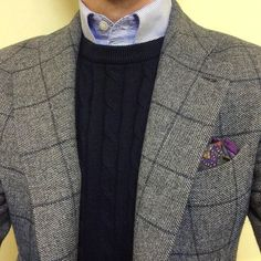 Plaid Jacket, Gray Jacket, Suit Jacket, Cool Outfits, Casual Outfits, Men Casual, Fashion Outfits, Der Gentleman, Gentleman Style