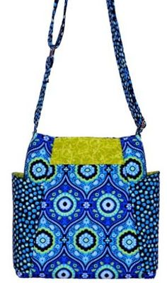 Hands-free Hipster - PDF Pattern from Sewphisti-Cat Patterns + How to Install Purse Feet | PatternPile.com