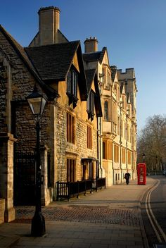 | ♕ |  Oxford - St Giles at 4 pm  | by © Darrell Godliman