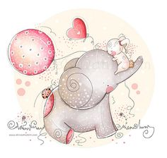 Children Illustration  Nursery  love and by ShivaIllustrations, $10.00