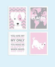 dog themed girls bedroom - Google Search