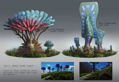 Pantropy Concept Art by Tyson Roberts on ArtStation.