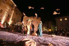 Gaite di Bevagna, la suggestione del Banchetto medievale