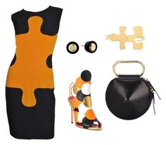 """""""Puzzled"""" by mishmashmix ❤ liked on Polyvore featuring Oscar Tiye, Moschino, 3.1 Phillip Lim, Marc by Marc Jacobs and J.W. Anderson"""