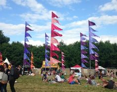 Silk & Ribbon Flags