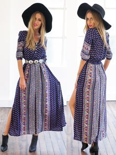 If you want to be stylish even on your carefree days,this Vintage Geo Printed Maxi Dress is your best choice. Don't miss it and find more surprise at OASAP.