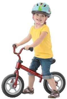 Chicco Red Bullet Balance Training Bike - Free Shipping