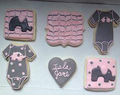 Baby  Elephant Sugar Cookies