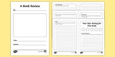 book review - Αναζήτηση Google Book Review Template, Booklet Template, Templates, Harmony Day, Best Book Reviews, Writing A Book Review, Opinion Piece, Book Names, Free Teaching Resources