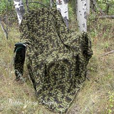 Ravelry: Camo Woodsman Hunter Man Cave Blanket pattern by Nikki Weiss
