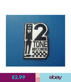 Collectables Patches Two Tone Madstock Ska Music Sew / Iron On Patch:- 2 Tone Records Ska Rude Boy #ebay #Collectibles