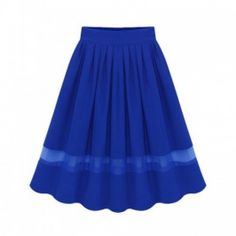 Cheap skater skirt, Buy Quality midi skirt directly from China midi skirt women Suppliers: Plus Size Vintage Skirt New Fashion 2017 Casual Pleated Knee-length Midi Skirt Women's Skater Skirt XXXXXL XXXXL XXXL XXL XL High Waisted Skater Skirt, Blue Pleated Skirt, Long Chiffon Skirt, Full Skirt Dress, Flare Skirt, Waist Skirt, Chiffon Rock, Vintage Skirt, Skirts