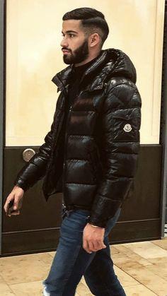 Cool Jackets, Winter Jackets, Mens Down Jacket, A Good Man, Swag, Menswear, Street Style, Mens Fashion, Guys