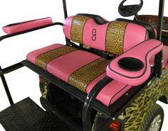 Club Car, Ezgo, Yamaha Golf cart Seats and Covers