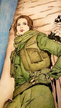 Jyn Erso From Rogue One A Star Wars Story War Stories Character Rogues