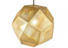 Tom Dixon Lighting: Etch Shade Brass