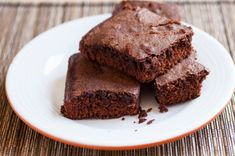Triple Chocolate Protein Brownies | Vitacost.com Blog