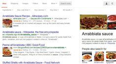 google filtrare rețete