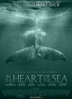 Directed by Ron Howard. With Chris Hemsworth, Cillian Murphy, Brendan Gleeson, Ben Whishaw. A recounting of a New England whaling ship's sinking by a giant whale in an experience that later inspired the great novel Moby-Dick. Cinema Movies, Horror Movies, Movie Tv, Apollo 13, Moby Dick, Holland, Brendan Gleeson, League Of Extraordinary Gentlemen, Shoulder Jewelry