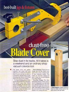Table Saw Dust Collection Guard - Dust Collection Table Saw