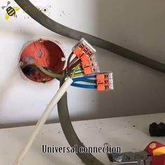 💁♂💁♂Universal Connection Terminal ✅✅No tape required, easy and convenient 💞Only one plug is needed to connect the wires Home Decor Hooks, Techno Gadgets, Home Decor Websites, Electrical Projects, Insulation Materials, Home Gadgets, Diy Desk, Tool Storage, Home Repair