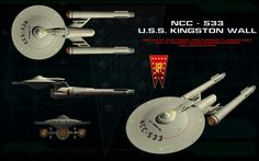 NCC - 533 U.S.S Kingston Wall