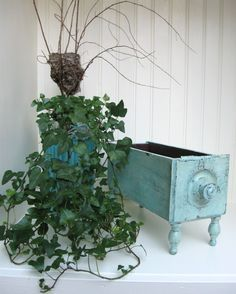 Image result for repurpose old sewing machine drawers