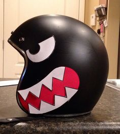 Bullet Bill Helmet #Mario via Reddit user zcnr39