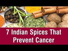*** precautions to prevent cancer *** Here is a list of 7 powerful indian spices that prevent all types of cancers. All these indian spices are easily available in stores and you can include them in Types Of Cancers, Eating Habits, Watch Video, Spices, Health Fitness, Indian, Food, Natural, Youtube