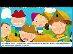 Legenda - o Smoku Wawelskim - bajka dla dzieci - Czytanka PL Montessori, Fairy Tales, Family Guy, Teddy Bear, Youtube, Diy, Speech Language Therapy, Bricolage, Fairytail