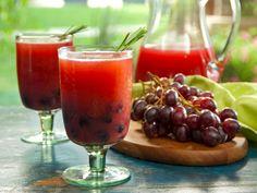 Vodka Grape Sparkler recipe from Bobby Flay via Food Network