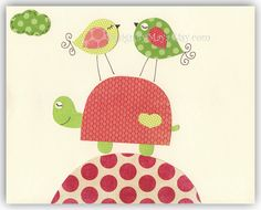 Baby girl room decor Nursery wall art baby girl by DesignByMaya, $17.00