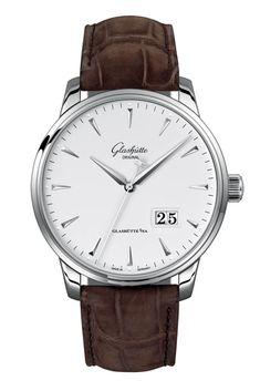 Senator Excellance Panorama Date Glashutte Original, Cool Watches, Omega Watch, Luxury, Bracelets, Accessories, Classic, Clocks, Luxury Watches